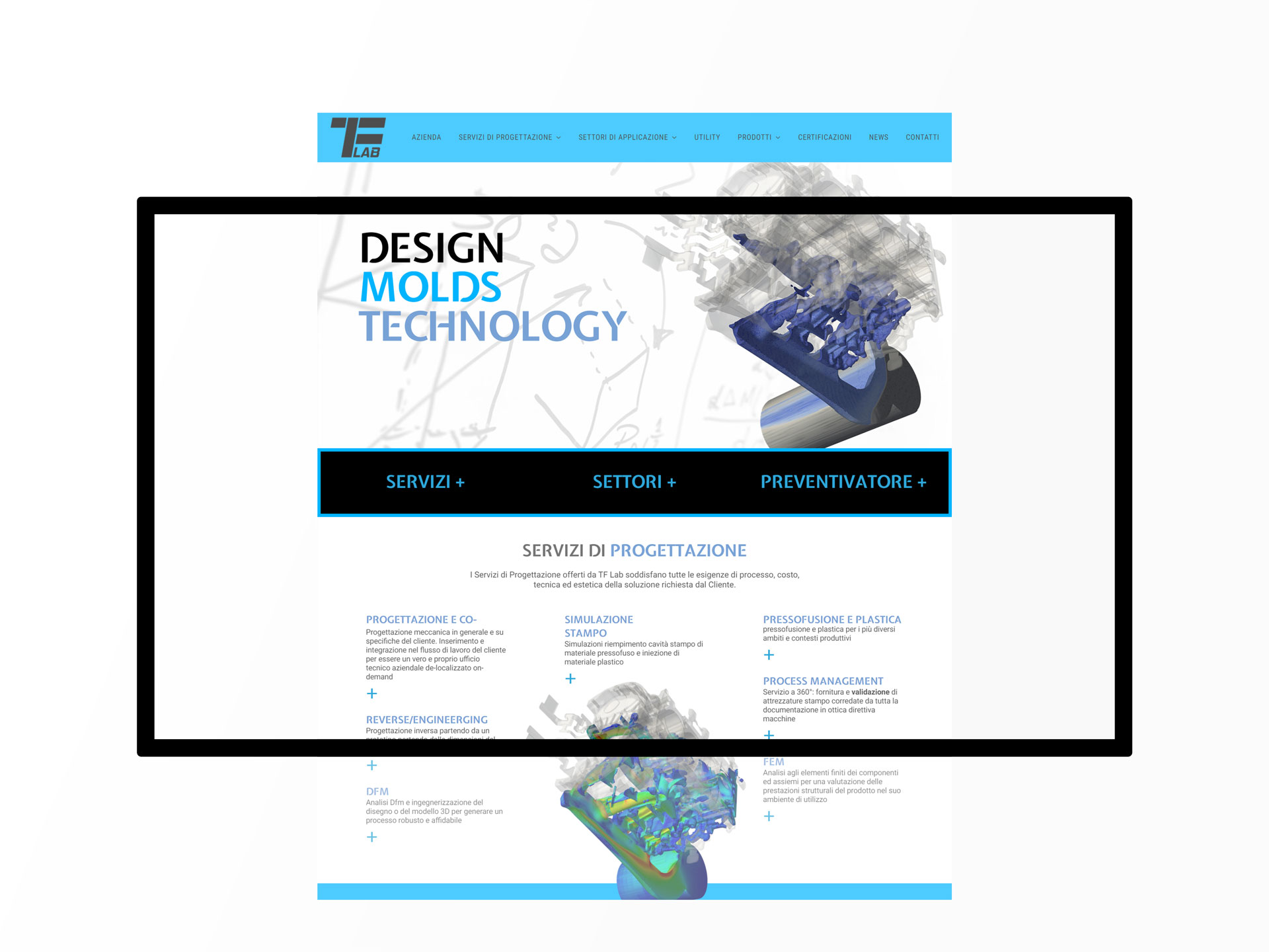 TF Lab home page