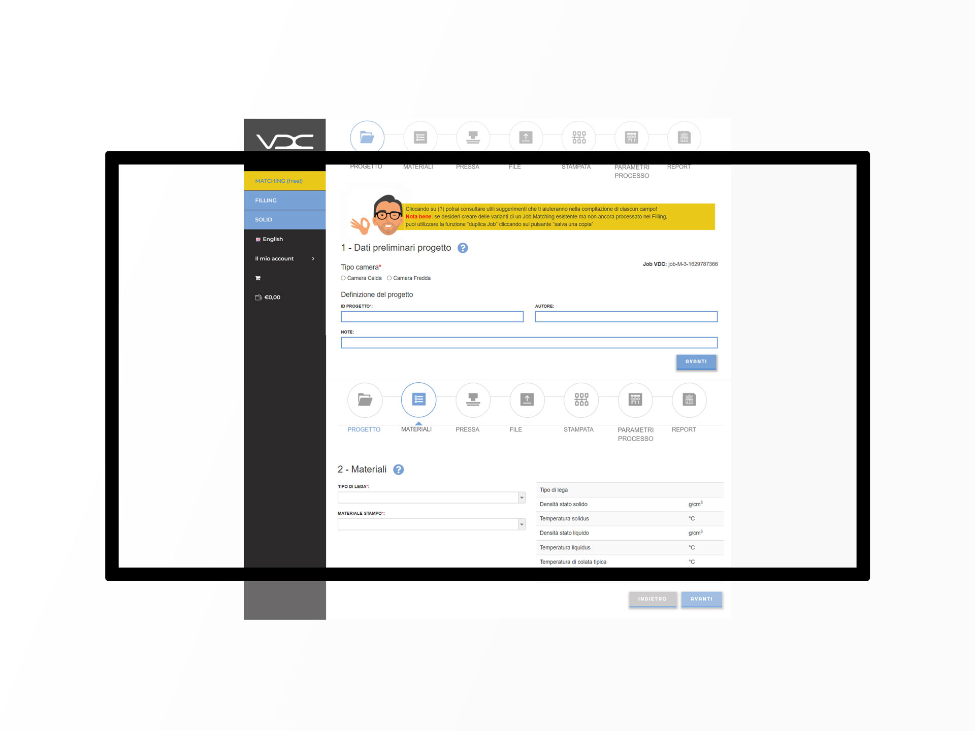VDC home page